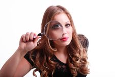 Free Looking Glass Stock Image - 20095681