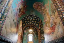 Free Church Of The Savior On Blood Stock Images - 20096024