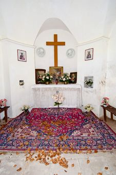 Free Small Chapel Interior Stock Images - 20096414