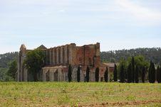 Free San Galgano Abbey Stock Images - 20096624