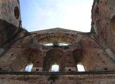 Free San Galgano Abbey Royalty Free Stock Image - 20096736