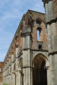 Free San Galgano Abbey Stock Images - 20096744