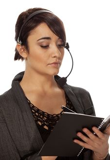 Personal Assistant Royalty Free Stock Photo