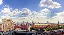 Free Aerial Kremlin View Royalty Free Stock Image - 20097546