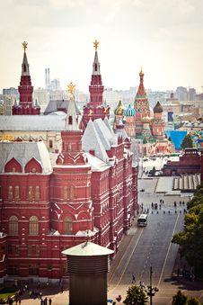 Free Aerial Kremlin View Stock Photo - 20097550