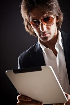 Free Young Serious Businessman Royalty Free Stock Images - 20097569
