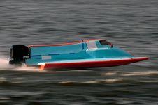 Free Motor Boat Royalty Free Stock Image - 20098056