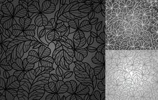 Free Leafs Clover, Lace Background Stock Photography - 20098102