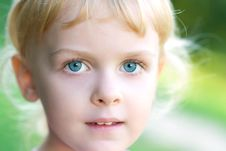 Free Portrait Of Young Girl Stock Image - 20098491