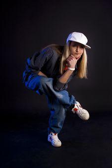 Free Modern Dance. Hip-hop. Stock Photography - 20098702