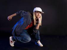Free Modern Dance. Hip-hop. Stock Photos - 20098723