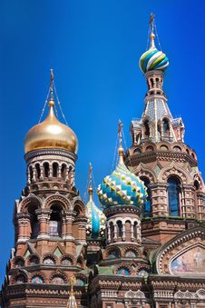 Free The Church Of The Savior On Spilled Blood Royalty Free Stock Photography - 20099457
