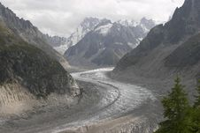 Free Mer De Glace Royalty Free Stock Photography - 2010817