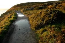 Free Irish Coast Line Path Stock Photos - 2011013