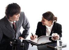 Free Working Together Stock Photo - 2011110