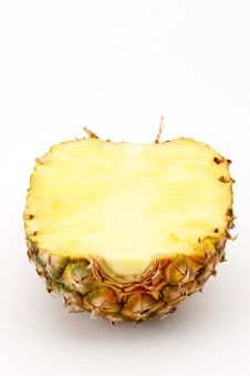Free Half A Pineapple Stock Photo - 2011340