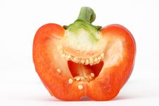 Free Red Bell Pepper Royalty Free Stock Photos - 2011418