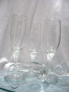 Free Wine Glasses Royalty Free Stock Images - 2011919