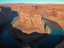 Free The Horseshoe Bend Royalty Free Stock Photos - 2012168