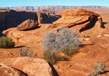 Free A Rock Formation In The Glen Canyon Stock Images - 2012194
