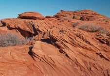 Free A Rock Formation In The Glen Canyon Royalty Free Stock Image - 2012206
