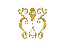 Free Shiny Decorative Flourish Royalty Free Stock Photo - 2012285