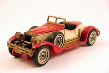 Classic Toy Car Stock Image