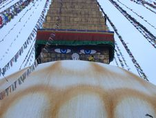 Stupa Royalty Free Stock Photos