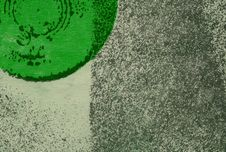 Abstract Background With Partial Green Circle Royalty Free Stock Photos