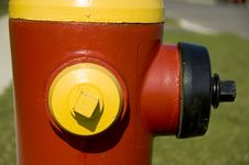 Free Red And Yellow Hydrant Stock Photo - 2014400
