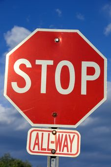 Free Street Stop Sign Stock Photo - 2014410