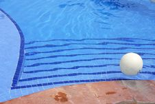 Free Pool With Ball Stock Photo - 2014830