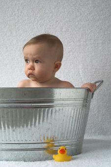 Free Tub Baby Stock Photos - 2014853