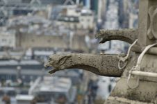 Free Gargoyle Above Paris. Royalty Free Stock Image - 2014866