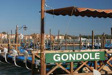 Free Gondola Royalty Free Stock Photography - 2014887