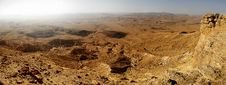 Free Panorama Of Desert In Israel. Royalty Free Stock Photos - 2015418