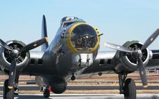 Free B17 World War 2 Bomber Royalty Free Stock Photo - 2016035