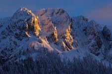 Free Early Winter In Slovenian Alps Stock Photography - 2016082