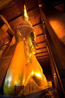 Free Big Buddha From Wat Pho Royalty Free Stock Images - 2016209