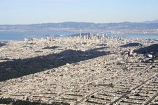 Free San Francisco Aerial Royalty Free Stock Photos - 2017158