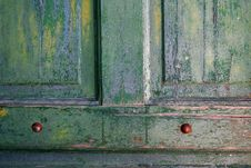 Free Weathered Door Royalty Free Stock Photo - 2018005