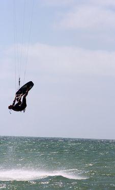 Free Kitesurfing IV Royalty Free Stock Image - 2018276