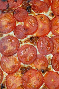 Free Pizza Topping. Tomatoes  And Cheese (49) Stock Photos - 2018683