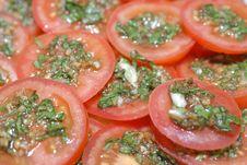 Free Tomato Salad (48) Stock Photo - 2018690