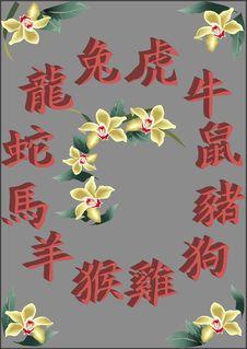 Free Chinese Zodiac Stock Photos - 2019123