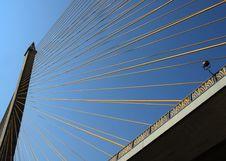 Free Rama VIII Bridge, Bangkok Royalty Free Stock Photo - 2019155