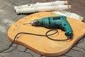 Free Wood Work Tool Royalty Free Stock Image - 20101236