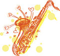 Free Abstract Sketchy Sax Stock Images - 20102864