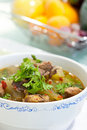 Free Soup Chicken With A Gourd Stock Photo - 20109880