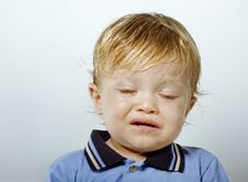 Free Portrait Of A Crying Boy Royalty Free Stock Photography - 20100537